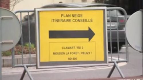 Neige Lile De France Se Prepare